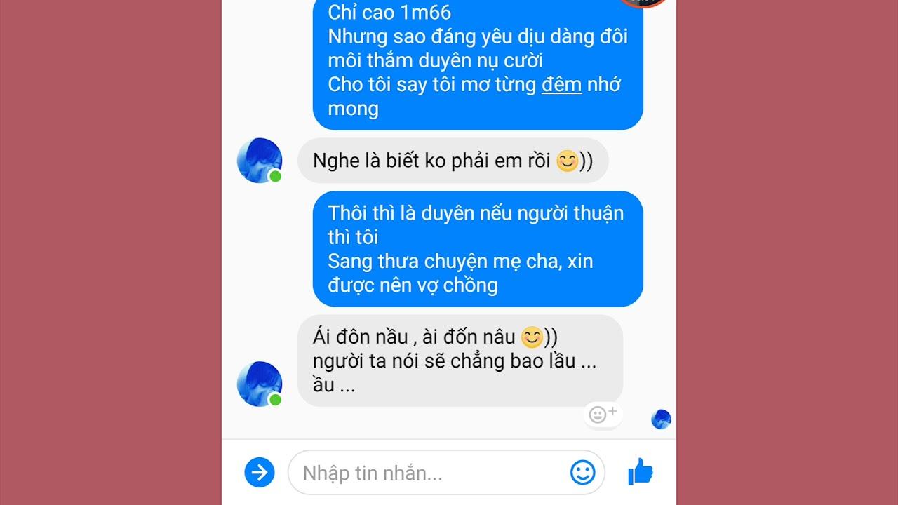 Troll tin nhắn cho gái