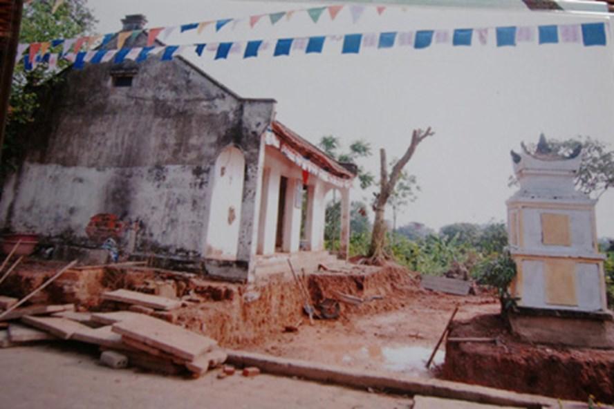 Bí ẩn đằng sau câu chuyện ngôi chùa liên tục bị đào bới