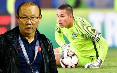 Filip Nguyễn nhập Quốc tịch Việt Nam tuyên bố cạnh tranh với thủ môn Văn Lâm