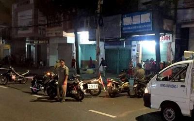 Nổ súng trên đường phố, 3 người trúng đạn