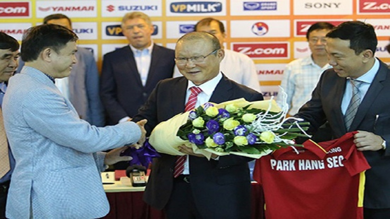 VFF gửi tin cực vui đến HLV Park Hang Seo