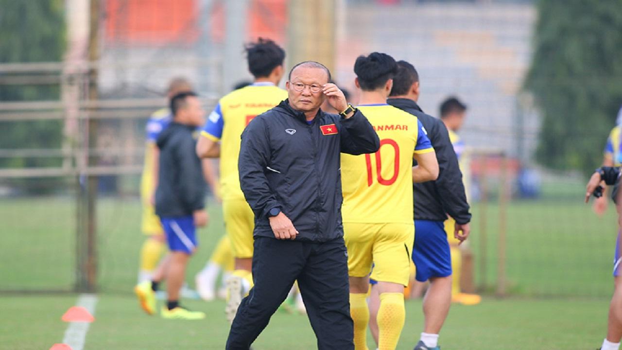 Thầy Park nhận tin cực vui từ trò cưng trước 2 trận đại chiến