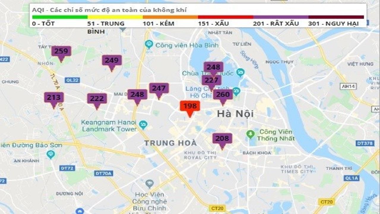 Thời sự ngày 14/12: Không khí Hà Nội báo động ở tình trạng cực kỳ nguy hại