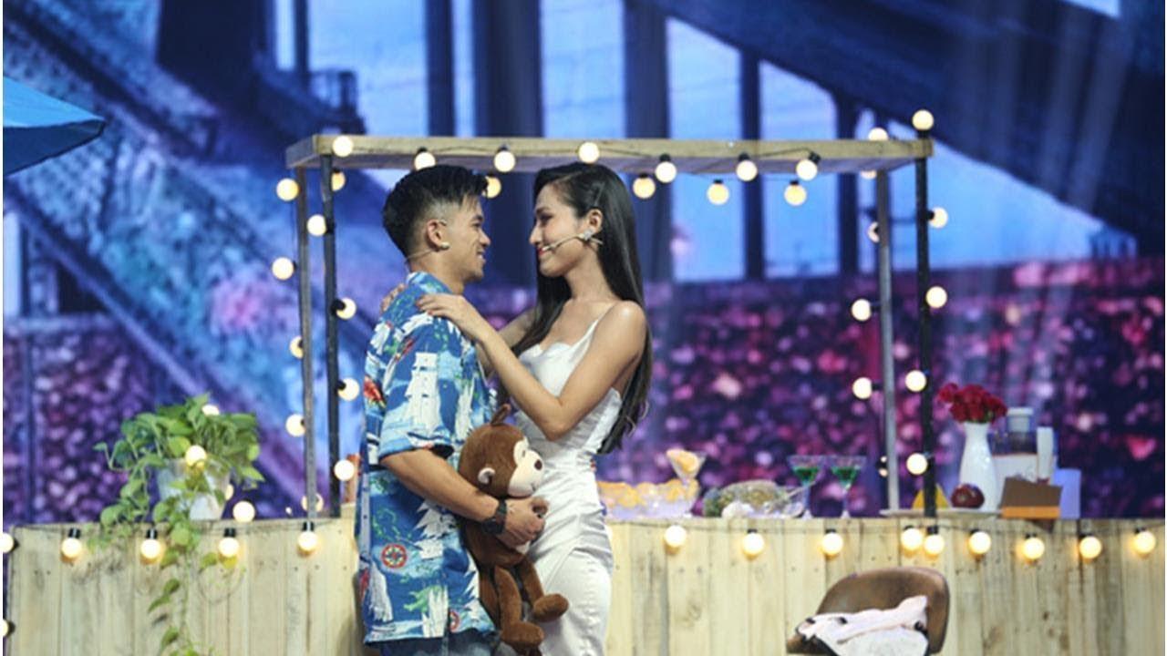 Trọng Hiếu quyết định nắm tay Hoa hậu chuyển giới Hoài Sa ra về trên show hẹn hò