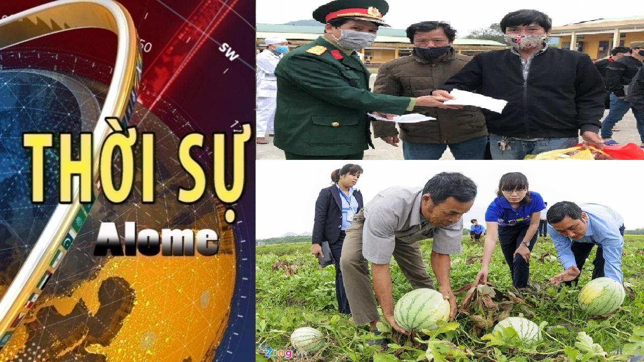 Thời sự ngày 18/02: Quảng Ngãi kêu gọi giải cứu hàng ngàn tấn dưa hấu, ớt
