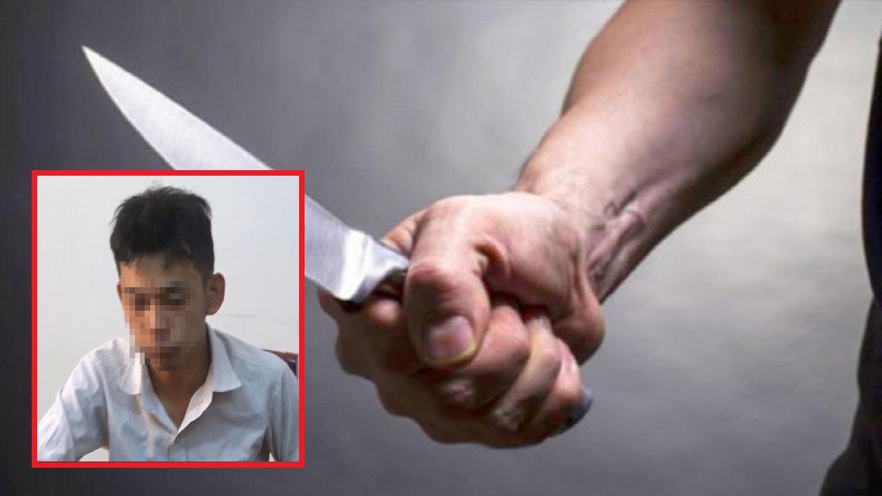 Sự viêc kinh hoàng tại Bình Định ''Nghịch tử'' cầm dao đuổi đánh cha rồi đánh cả công an
