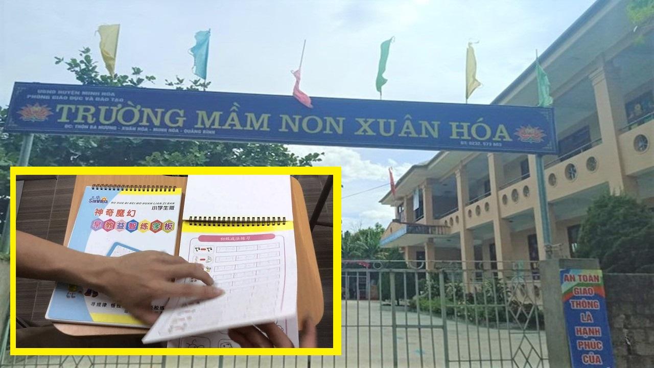 Quảng Bình Giáo viên bị đình chỉ công tác vì mua vở nằm ngoài danh mục