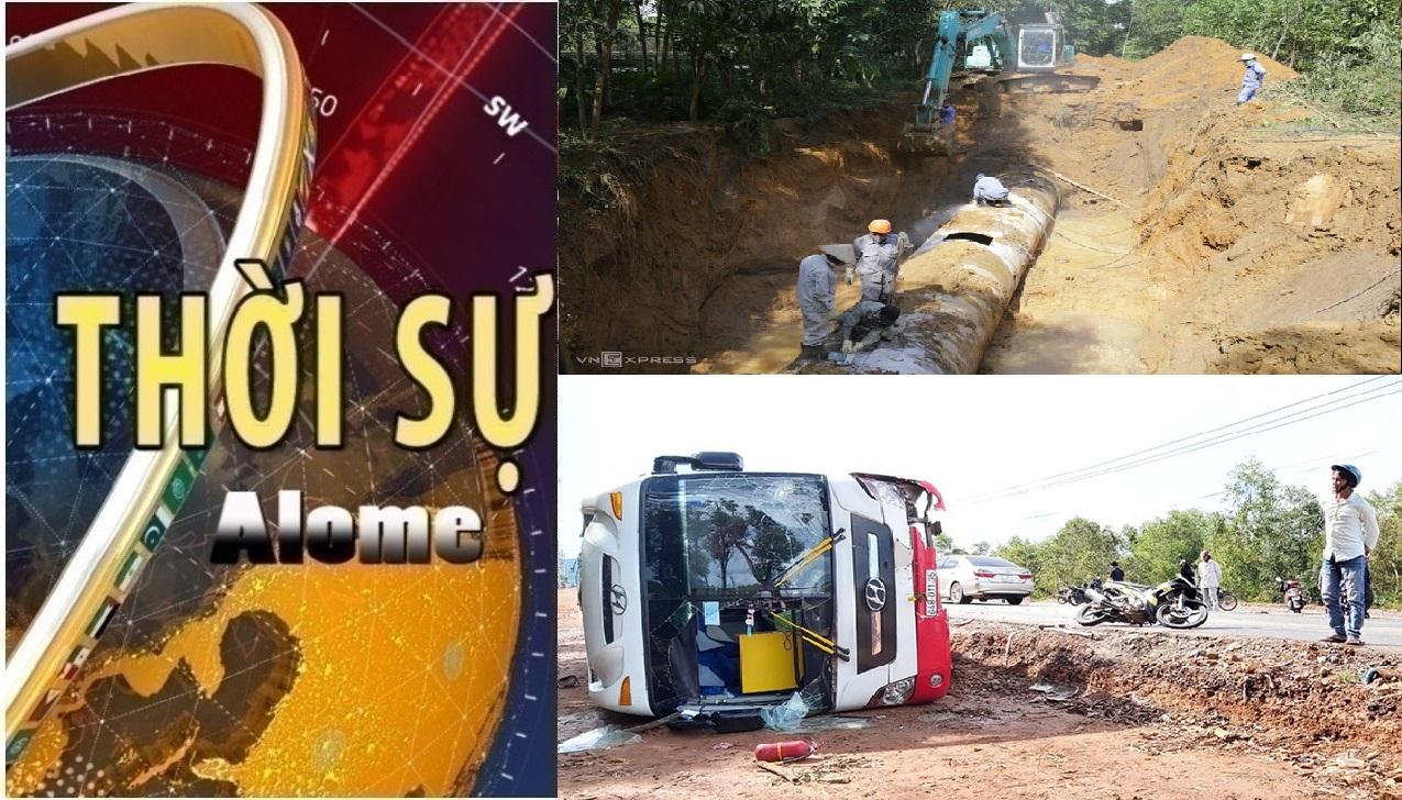 Thời sự ngày 09/07: Đường ống sông Đà lại gặp sự cố