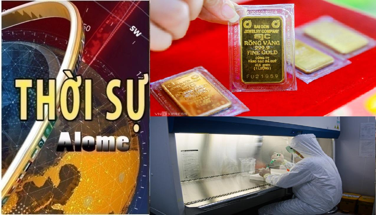 Thời sự ngày 06/08: Giá vàng vượt mốc 61 triệu đồng/lượng