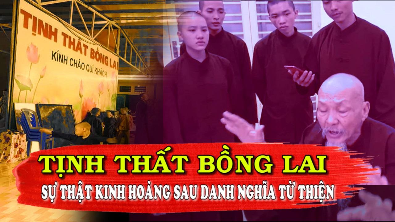 Sự Thật Kinh Hoàng Tại Tịnh Thất Bồng Lai, Nơi Nhận Nuôi Trẻ Em Mồ Côi Ở Long An