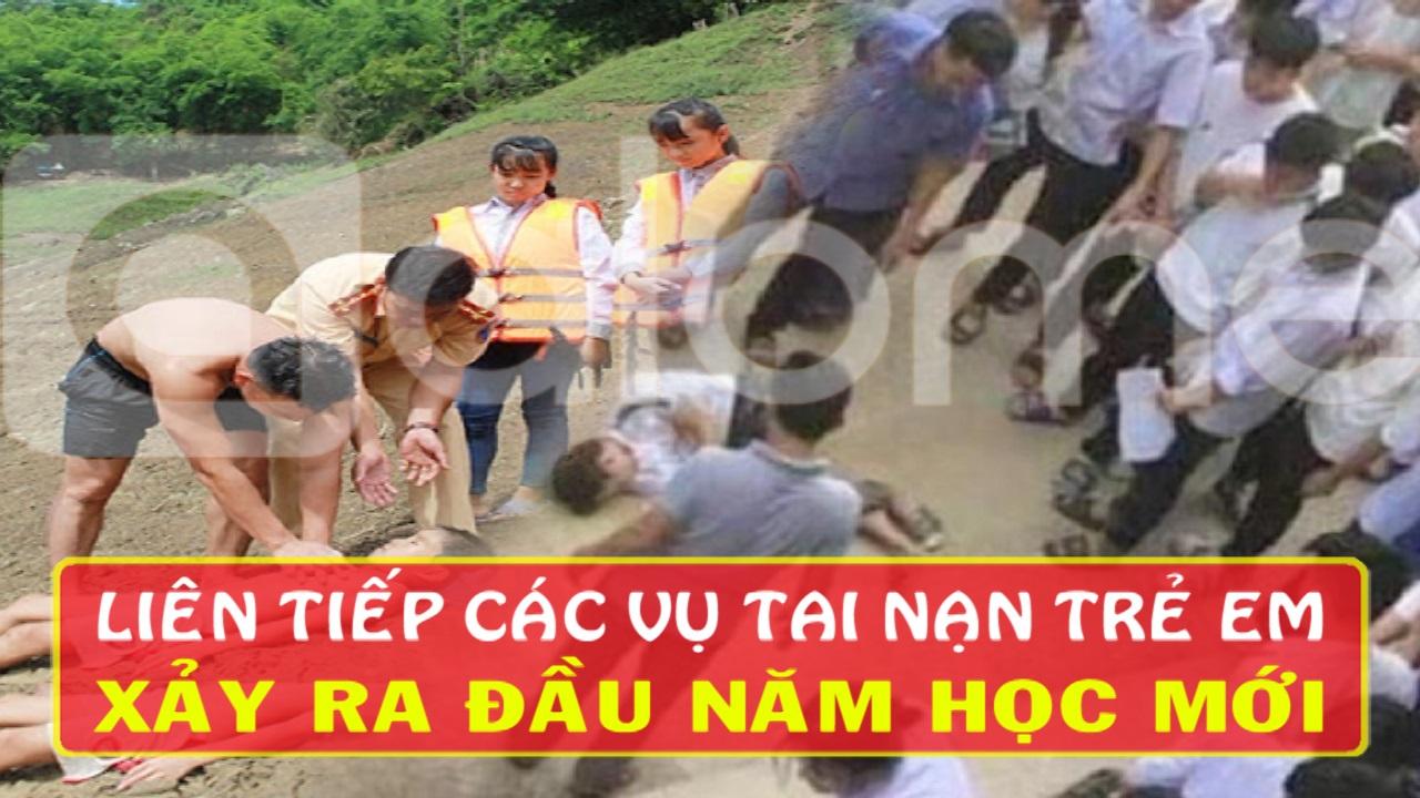 Hà Nội: Học sinh lớp 8 rơi từ tầng 2 xuống đất