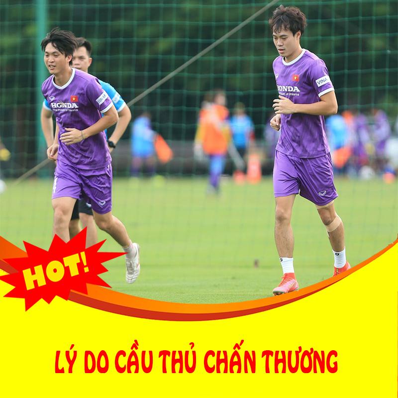 Thể thao 15//09: Tuyển Việt Nam long đong vì chấn thương: Có phải tại thầy Park?