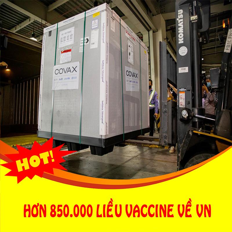 Thời sự 16/09: Hơn 850.000 liều vắc xin từ Đức về đến Việt Nam