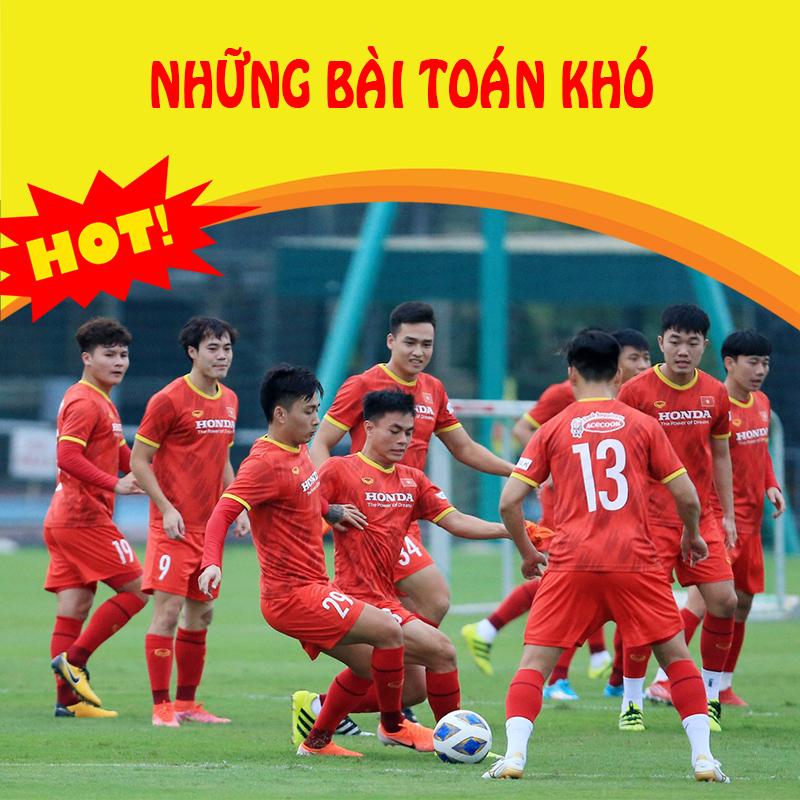 Thể thao 17/09: Tuyển Việt Nam: Những bài toán cần thầy Park giải