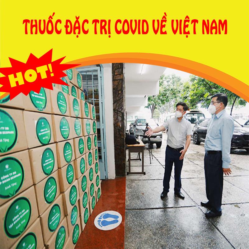 Thời sự 17/09: 100.000 lọ thuốc đặc trị Covid 19 đã về đến Việt Nam