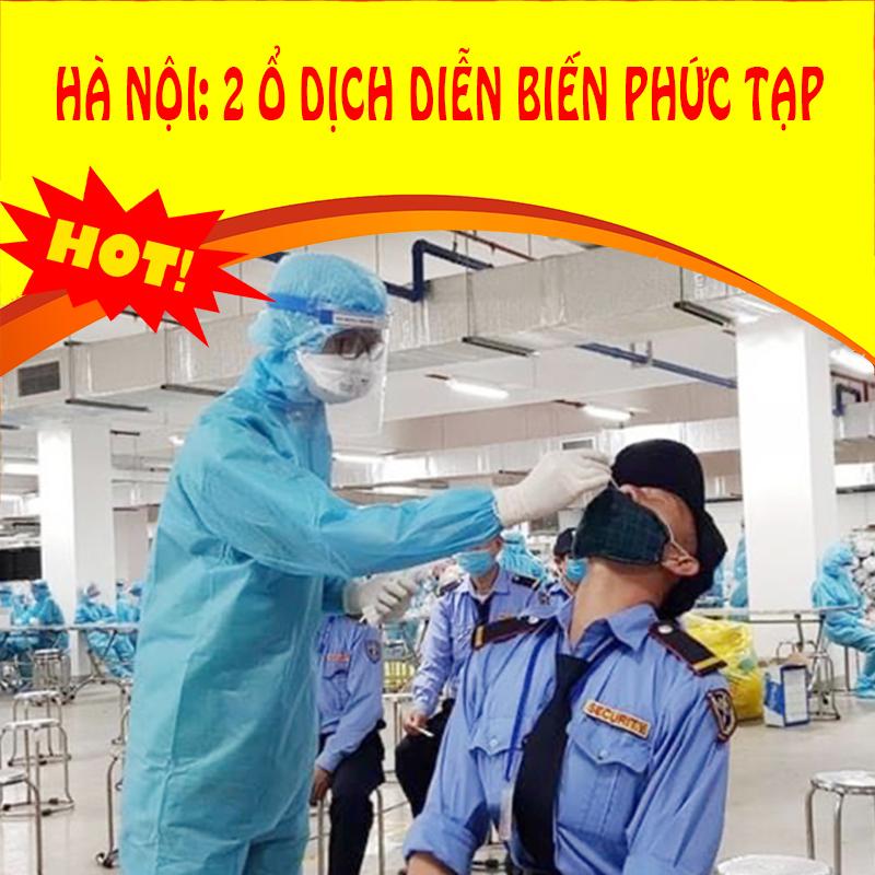 Thời sự 23/9: Hai ổ dịch tại Hà Nội ghi nhận thêm người nhiễm nCoV