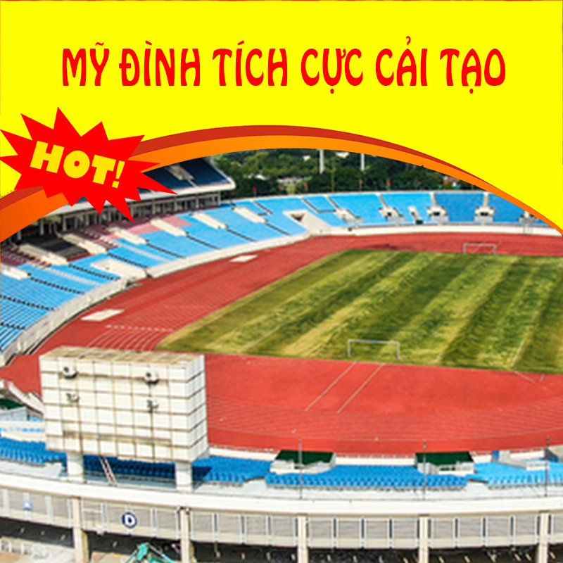 Thể thao 23/09: Sân vận động Mỹ Đình đang được tích cực nâng cấp, cải tạo